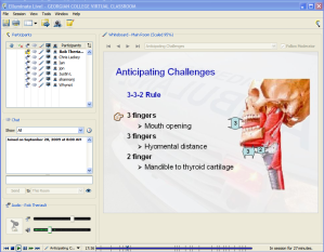 Webcasting a Paramedic Class on Intubation